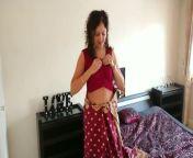 Indian red saree Bhabhi caught watching porn by Devar fuck desi hindi audio from audio sex hindi papa