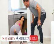 Naughty America - Reagan Foxx fucks her Neighbor from carina cafur xxxx amerika