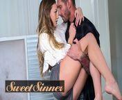 Sweet Sinner - British Hunk Kurt Rams Into Petite Nicole's Tight Little Hole from sweet
