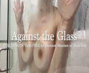 TITS N ASS AGAINST GLASS from eskoz tits n ass