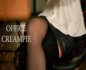 Papper Work. Secretary roleplay by MyKinkyDope [Creampie] from sex indanan office