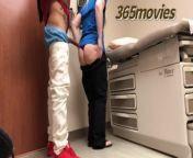 (Sneaky Work Sex) Thug fucks Nurse in Doctors Office on her lunch break from doctor nurse sex www desi ap