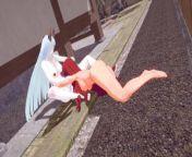 【KAGUYA OTSUTSUKI】【FUTANARI 3D】【KUSHINA UZUMAKI】【 NARUTO】 from naruto and kaguya